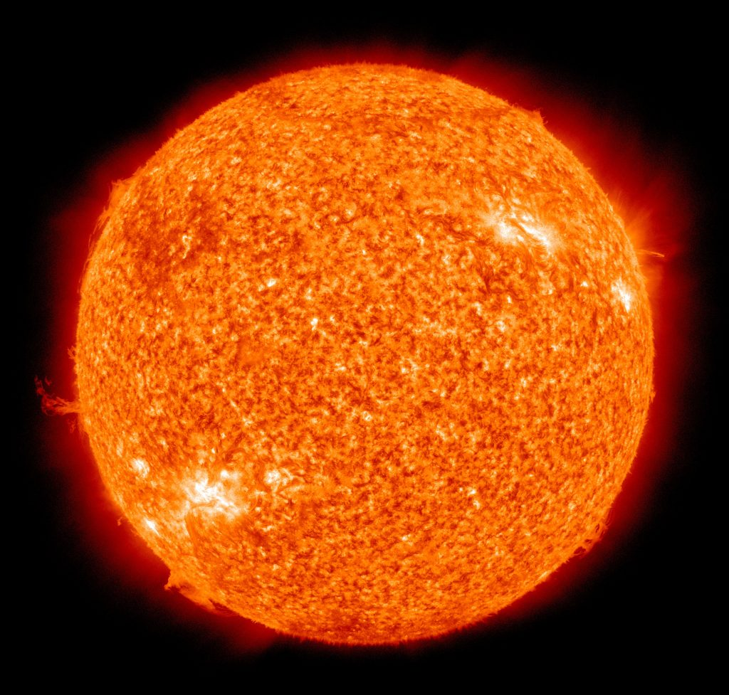 stages of the sun