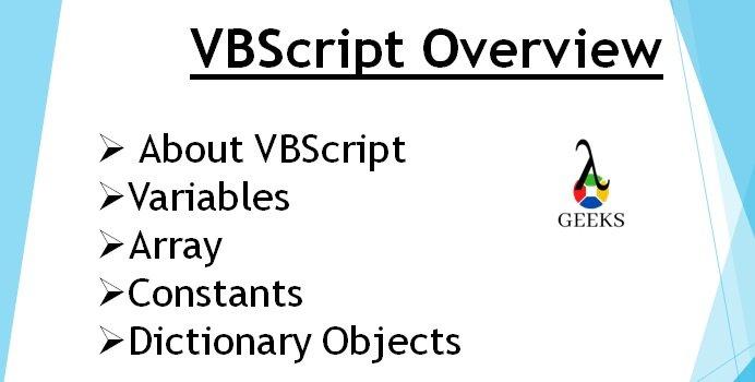 vbscript-zelfstudie - vbscript-variabelen
