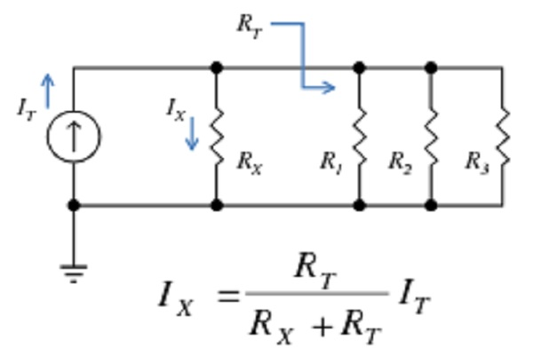 करंट डिवाइडर सर्किट   वर्तमान डिवीजन: समीकरण, समस्याएं, अक्सर पूछे जाने वाले प्रश्न